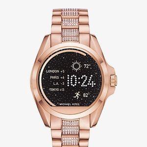 Michael Kors Rose Gold Smart Watch